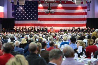 High Point University Welcomed 1,200 for Annual Veterans Day Celebration