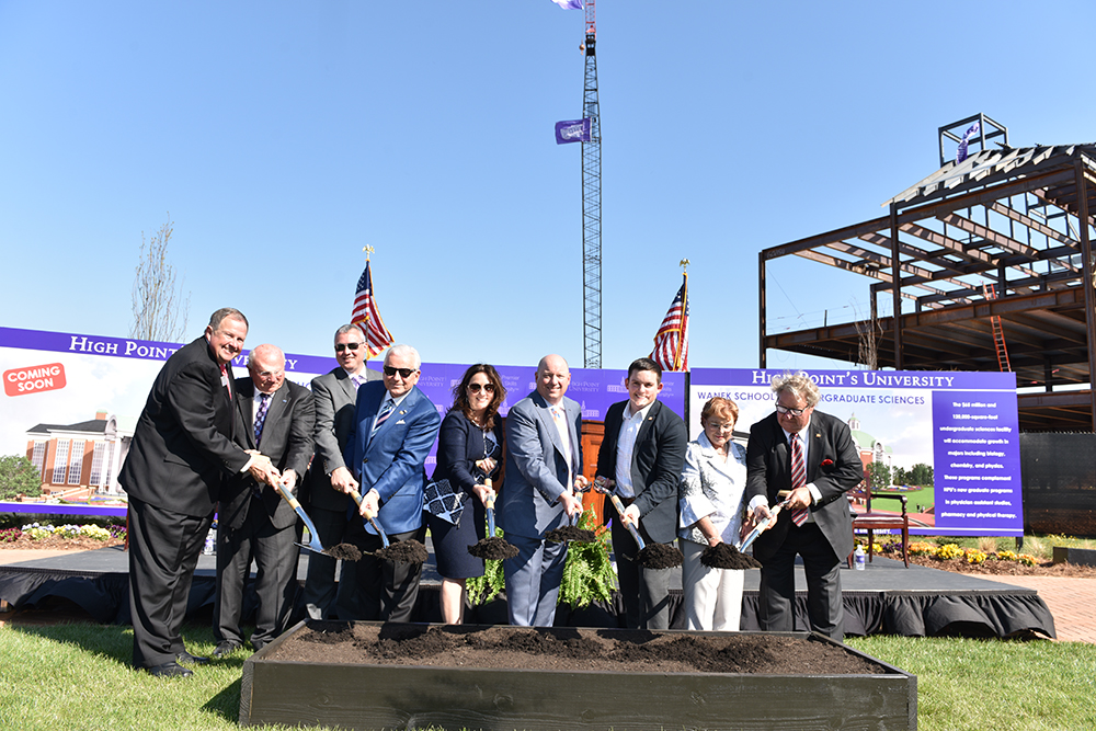 HPU Breaks Ground on Wanek School of Undergraduate Sciences