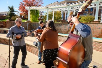 HPU's Theatre and Music Departments Host Broadway Musician During 'Bright Star'