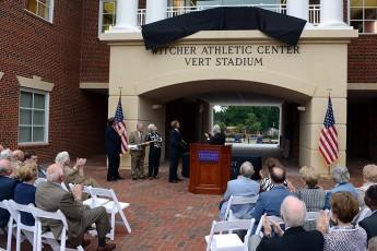 HPU Dedicates Witcher Athletic Center in Honor of Alumnus