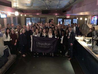 HPU Students Network and Explore Career Opportunities Through 'HPU in the City'