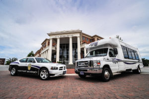 HPU security transportation shuttles