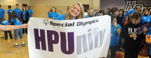 Students Organize HPUnify Event for Special Olympics Athletes