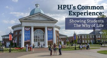 HPU's Common Experience: Showing Students the Why of Life