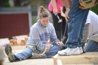 Faculty Help Build Homes in High Point