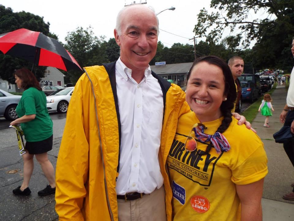 Haley Cotnoir, Congressman Joseph Courtney