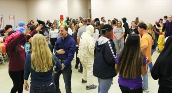 HPU Students Host Halloween Dance for Individuals with Disabilities