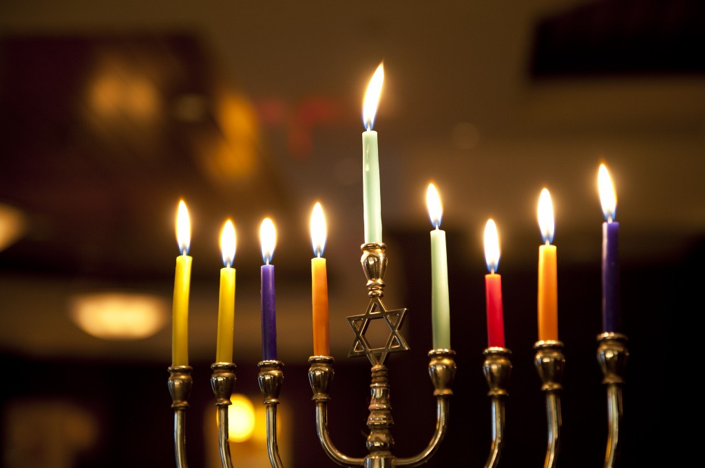 students celebrate traditions and customs of hanukkah high point
