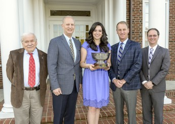 Kaitlin Thompson Presented with 2016 HPU Haverty Cup