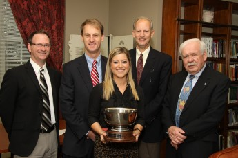 Senior Jaclyn Lawrence Receives 2013 Haverty Cup