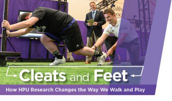 Cleats and Feet: How HPU Research Changes the Way We Walk and Play