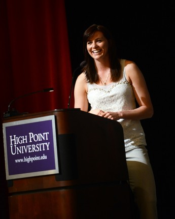 HPU Celebrates Olympian Heather Richardson at Hometown Hero Event
