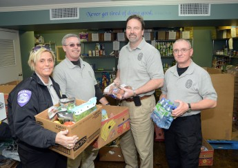 Security Department Begins Volunteer Program at Helping Hands Ministries