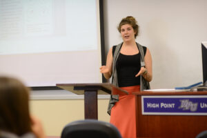 "Devin Plyler presents ""Virginia Woolf's Androgynous Ideal: The Procreative Mind in Mrs. Dalloway."""