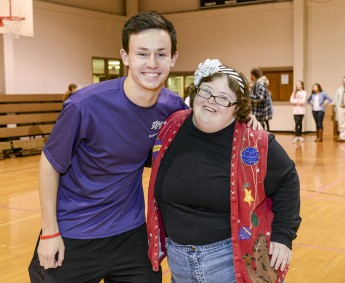 Students Host Holiday Dance for Individuals with Disabilities