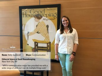 Student Lands Editorial Internship at Good Housekeeping