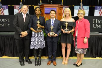 Students Honored for Commitment to Service and Academics