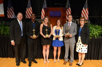 Students Recognized at Honors Day for Commitment to HPU and Community