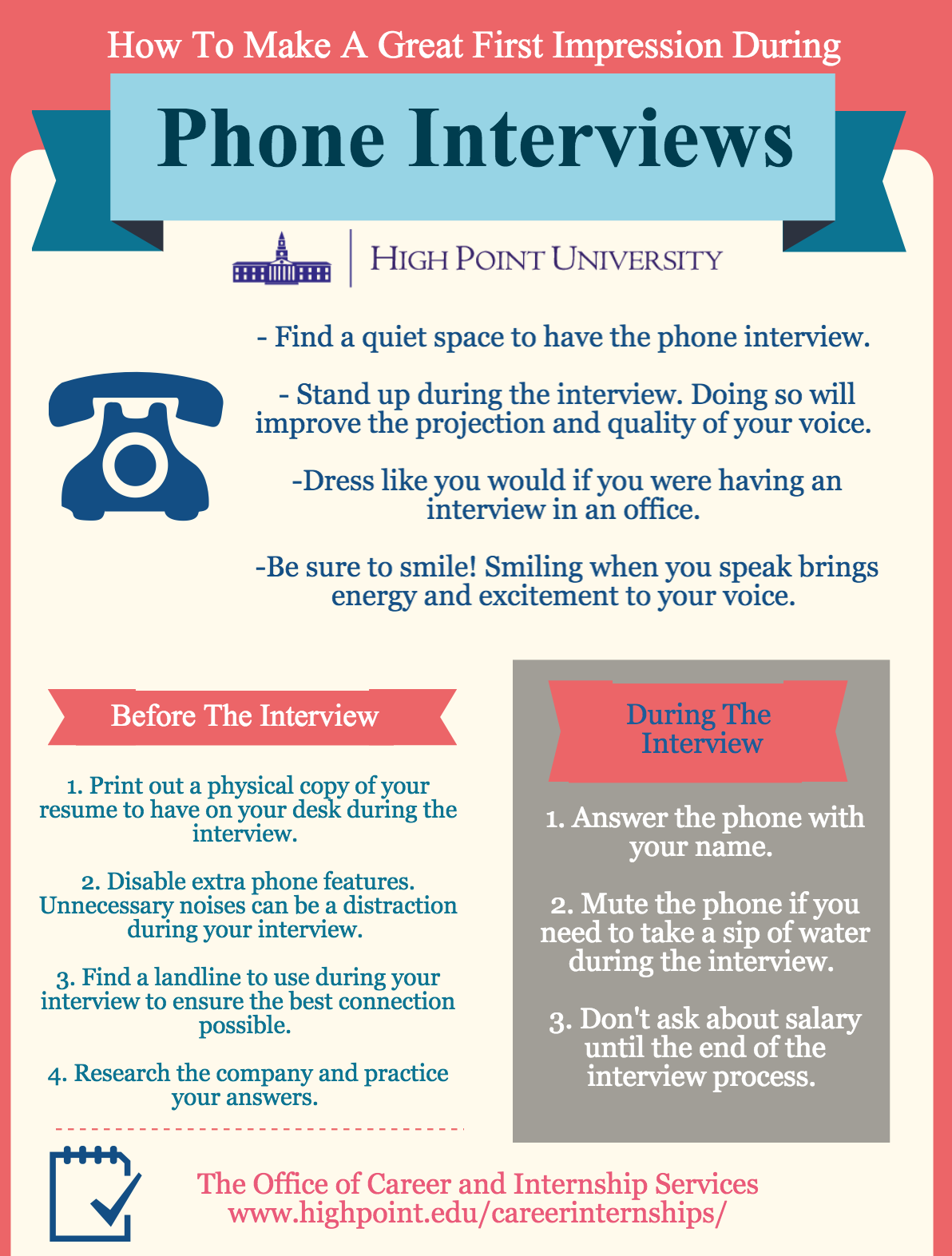 How To Make A Great First Impression During Phone Interviews!!
