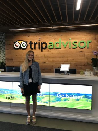 Internship Profile: Taylor Agapite Interns at TripAdvisor