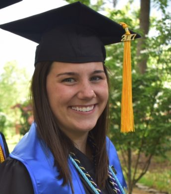 Class of 2017 Profile: Colleen Mulrey Attends Graduate School at the University of Tennessee