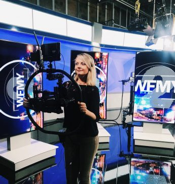 Internship Profile: Morgan Carafa Gains Experience at WFMY News 2