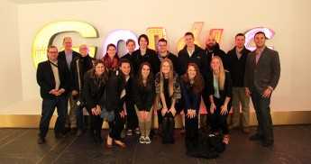Students Visit Google and Graphic Design Firms in New York City