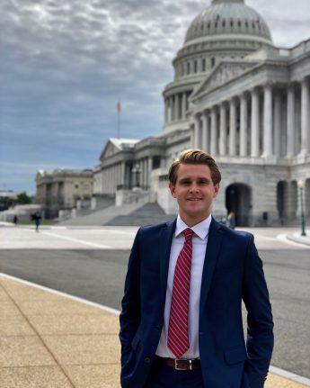Internship Profile: Paul Calkins Interns on Capitol Hill