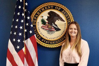 Class of 2019 Outcomes: Ashley Smith Utilizes Major at the U.S. Attorney's Office