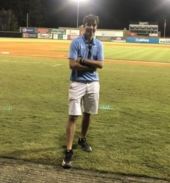 Internship Profile: Aidan Jensen Builds Connections with the Burlington Royals