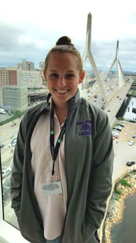 Internship Outcomes: Kristina Wolinski Interns for TD Garden