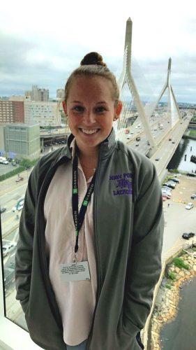 Internship Profile: Kristina Wolinski Interns for TD Garden