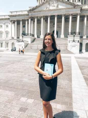 Internship Profile: Jessica Vedrani Finds a Passion for Politics
