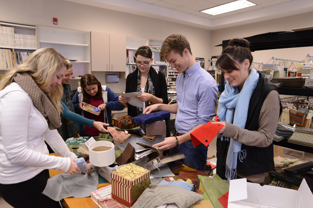 Design students create gift boxes for elderly high point - Interior decorator students for hire ...