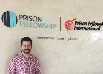 Internship Profile: Joseph Osgood Interns at Prison Fellowship