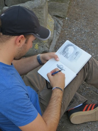 Students Travel to Italy to Study Art from the Masters
