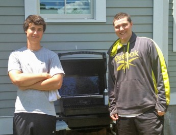 Student Fires Up Grill Cleaning Business