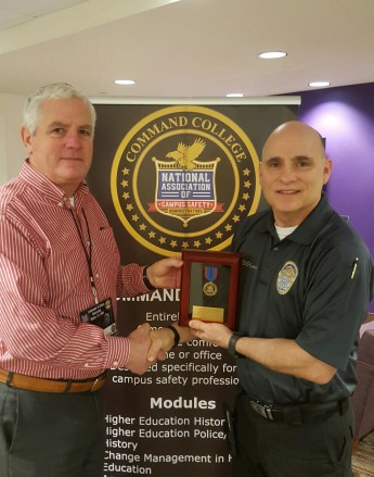Security Chief Awarded Medal of Excellence