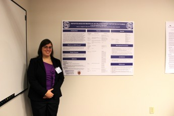Exercise Science Major Presents at State-Wide Conference