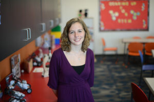 High Point University's October Extraordinary Leader Jessica Strickler