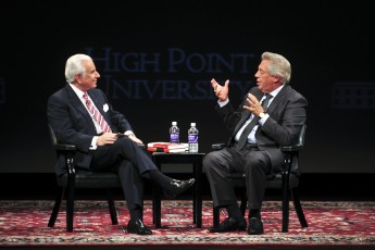 UNC-TV to Air 'High Point University Presents A Conversation with John Maxwell and Nido Qubein'