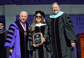 Judy Isaksen Receives Slane Distinguished Teaching-Service Award