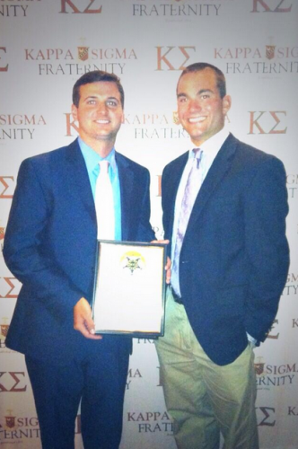 Fraternity Receives National Recognition at Conference