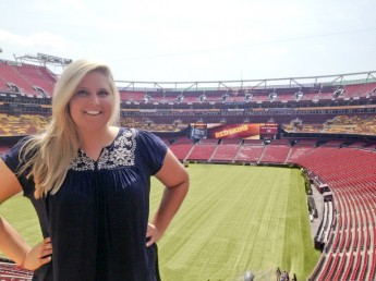 Student Interns with NFL Team