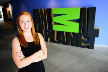 Senior Interns with Animal Planet