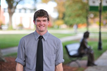 Class of 2014 Outcomes: Kevin Sanders Works Toward His Physics Doctorate