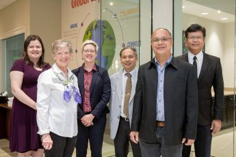 Nonprofit Leadership and Management Program Hosts Professors from Thailand