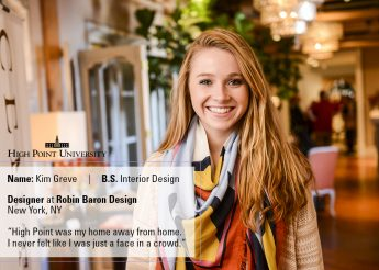 Class of 2016 Outcomes: Kim Greve Designs Custom Homes
