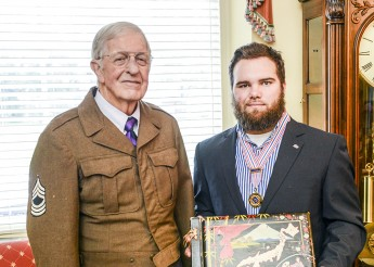 Freshman Receives Korean War Veterans Scholarship