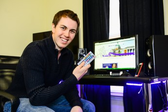 Meet the Seniors: Student Takes Business to a New Level for Gamers